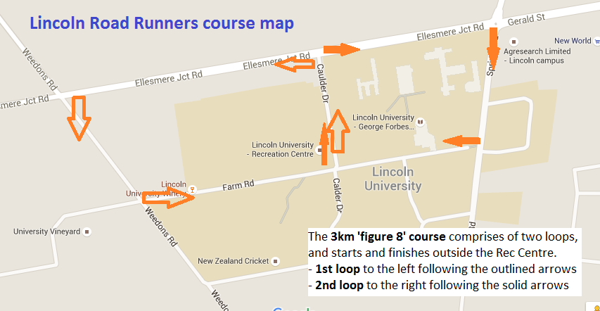 See the course map here